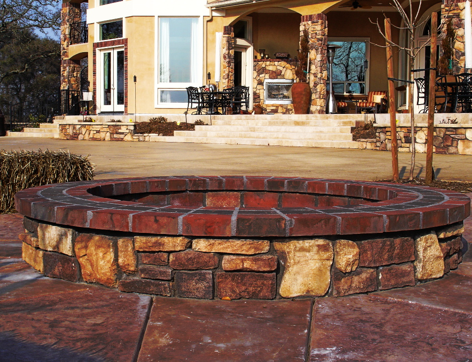 Folsom announces new water reduction incentives for Eldorado stone fire pit