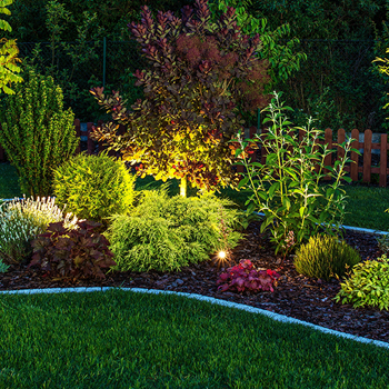 Attirant From Illuminating Your Front Porch To Lighting Up Your Palm Trees In The  Backyard, FiveSTAR Landscape Design In Sacramento Can Create The Landscape  Lighting ...
