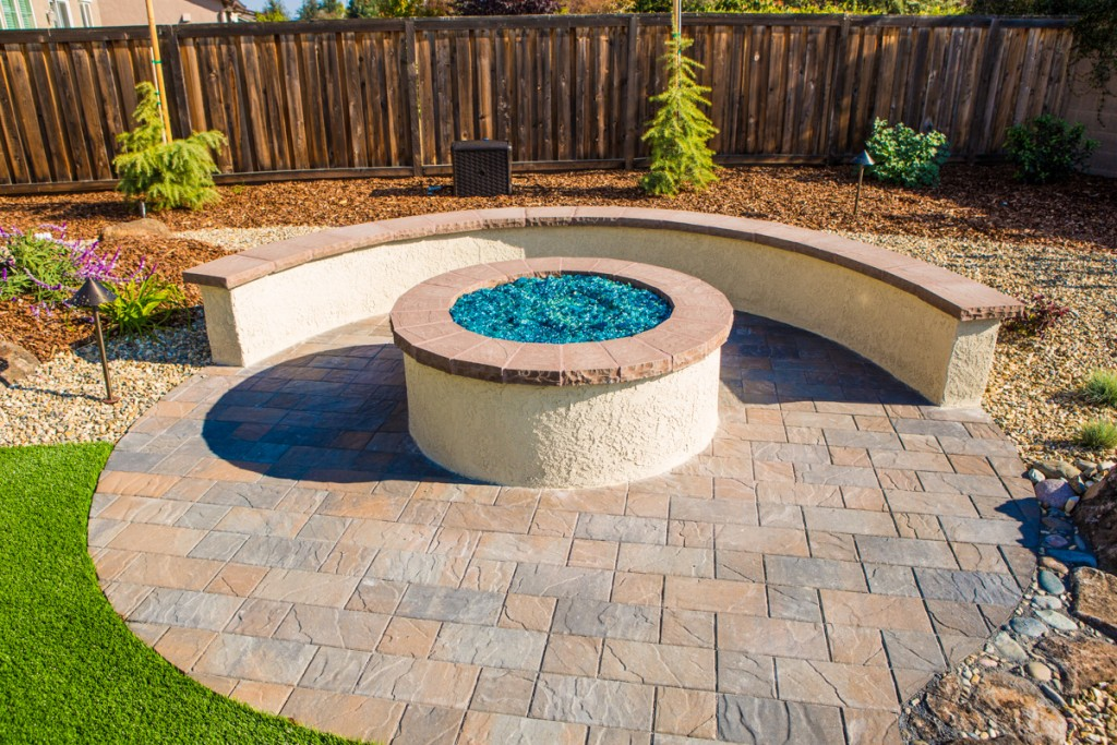 Outdoor Fireplace Design Sacramento