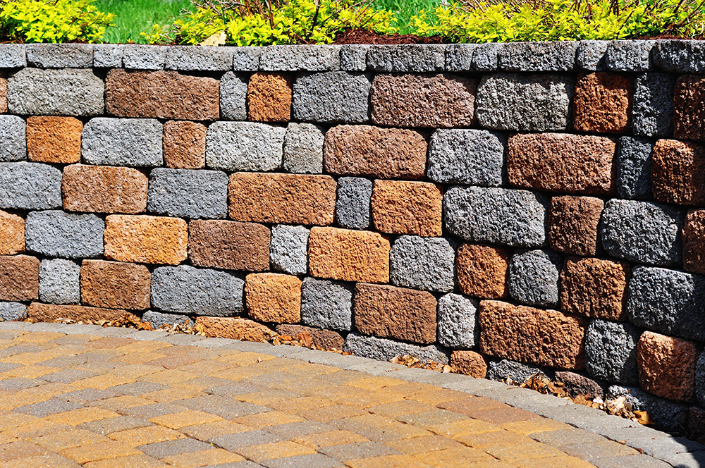 Paver Stones and Concrete Block