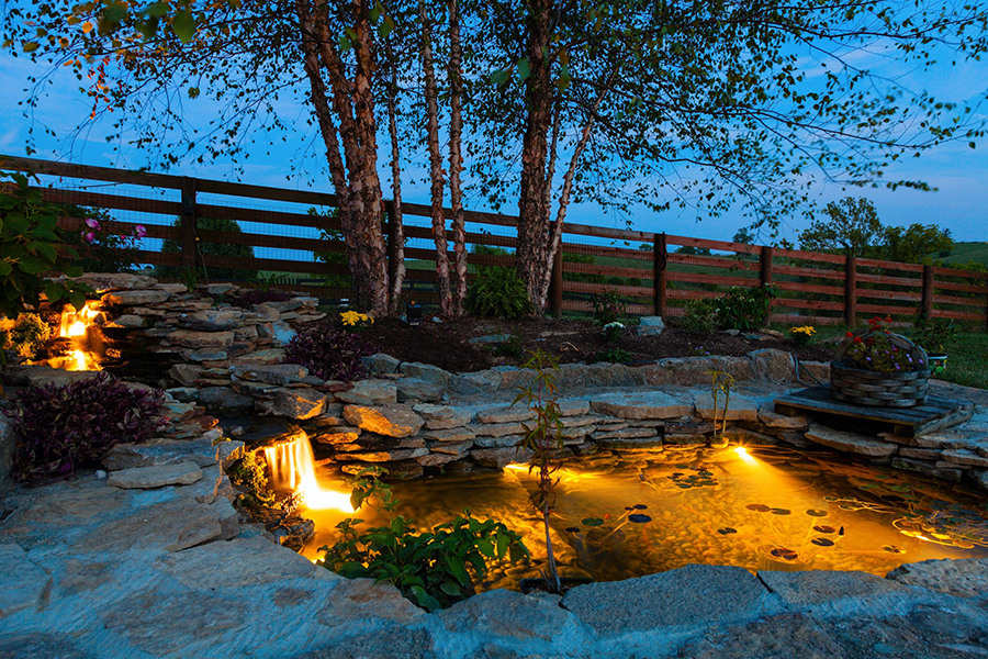 Water Features - Landscape Lighting Sacramento