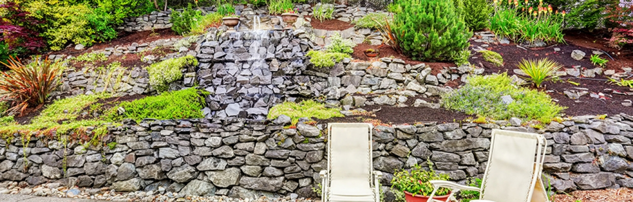 LANDSCAPE DESIGN IDEAS FOR STEEP BACKYARDS