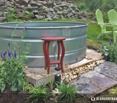 Stock Tank Pools and Landscape Design