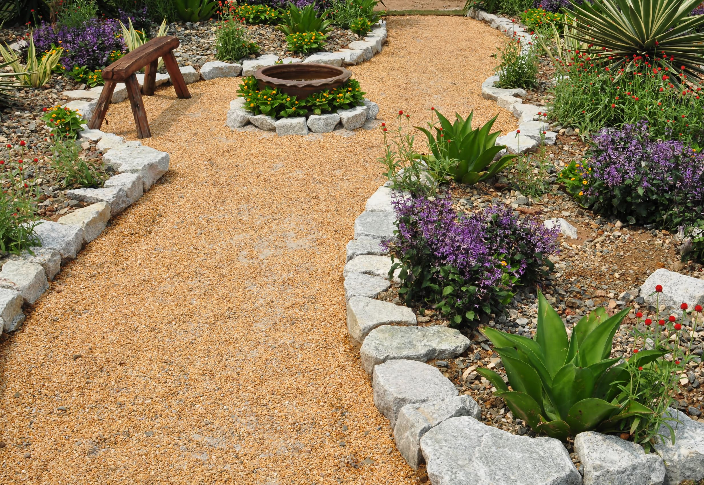 Backyard Landscaping On Hills | Joy Studio Design Gallery ... on Xeriscape Backyard Designs id=85364