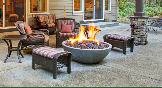 Landscape Services Folsom - Fire Pits and Fireplace