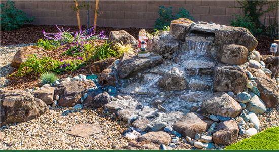Landscape Services Folsom - Water Features