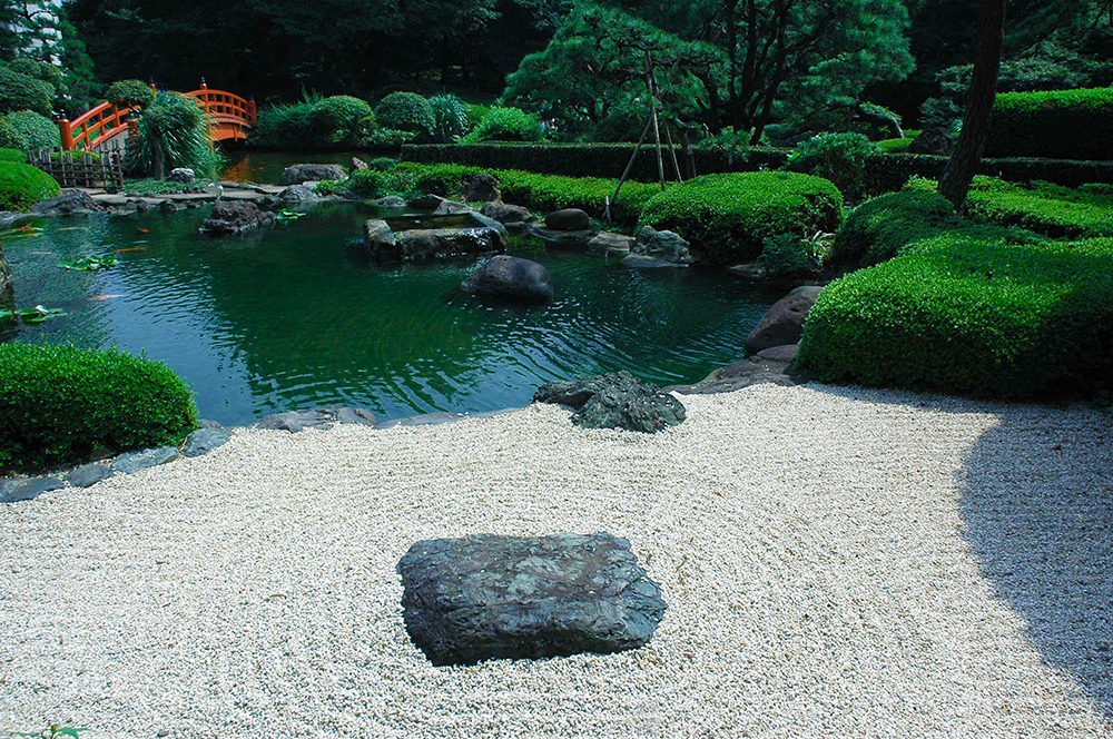 Theme Zen Garden - Water Feature
