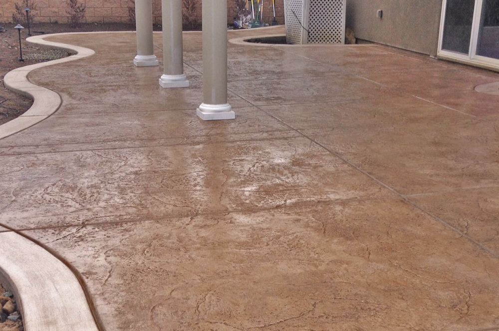 Stamped Concrete Patio Sacramento