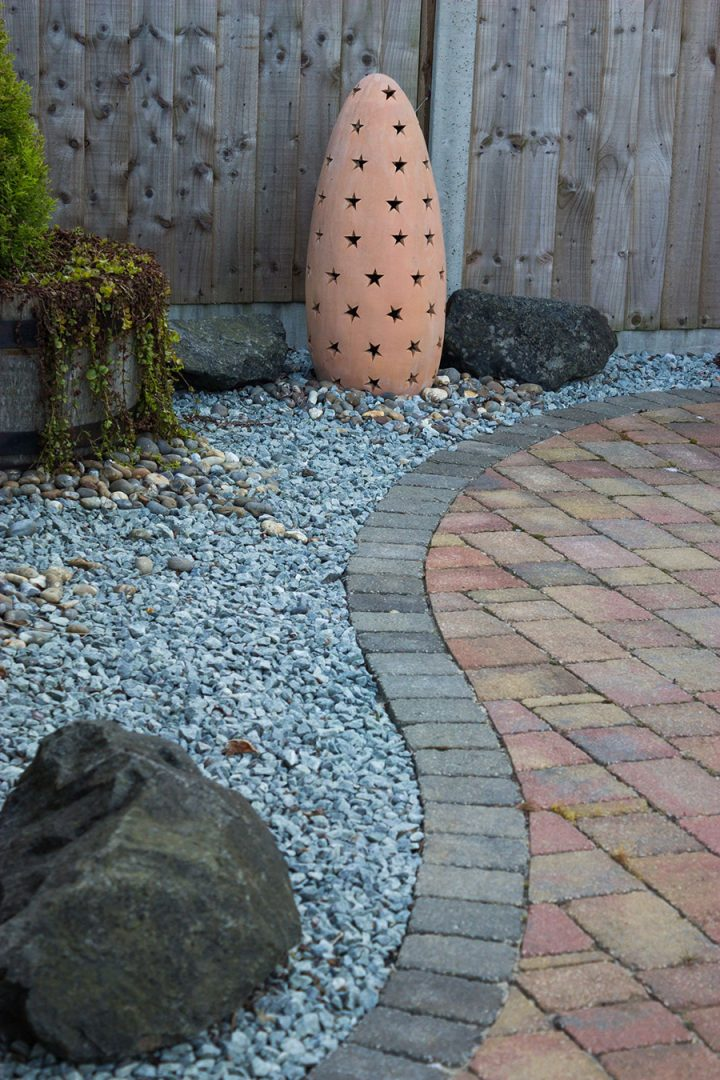 Paver Stone Patio - Drought Proof