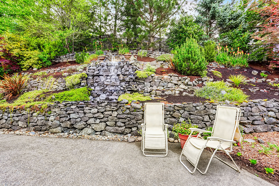 Rock Retaining Wall Sacramento
